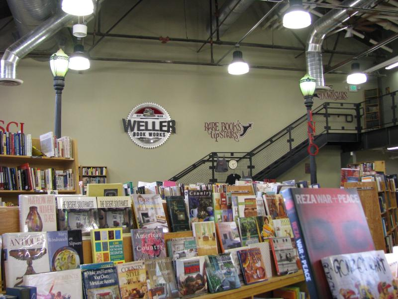 Weller Book Works in Trolley Square